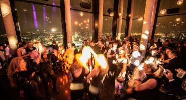 New Years Eve SkylineBar 20up Dancefloor