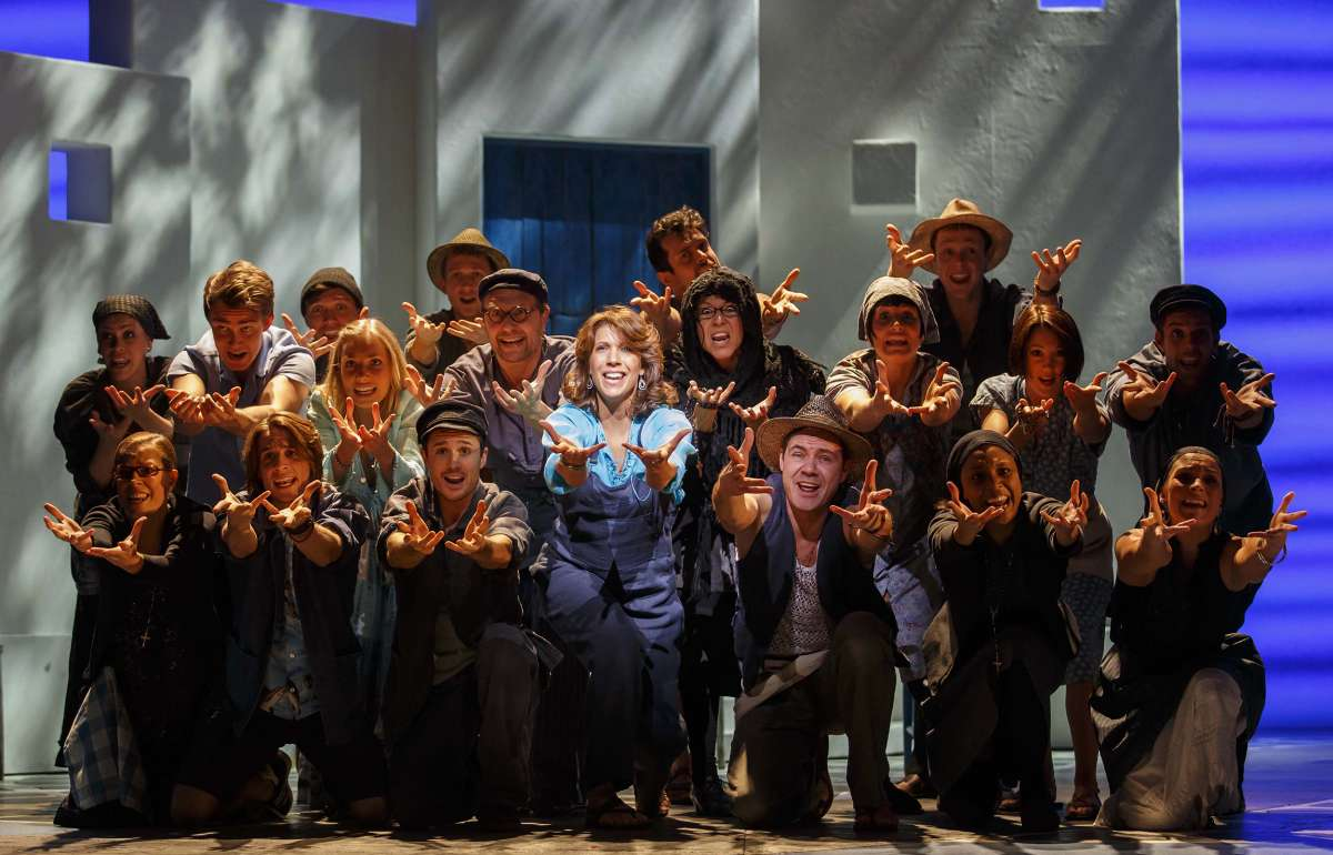 Mama Mia Musical ©StageEntertainment
