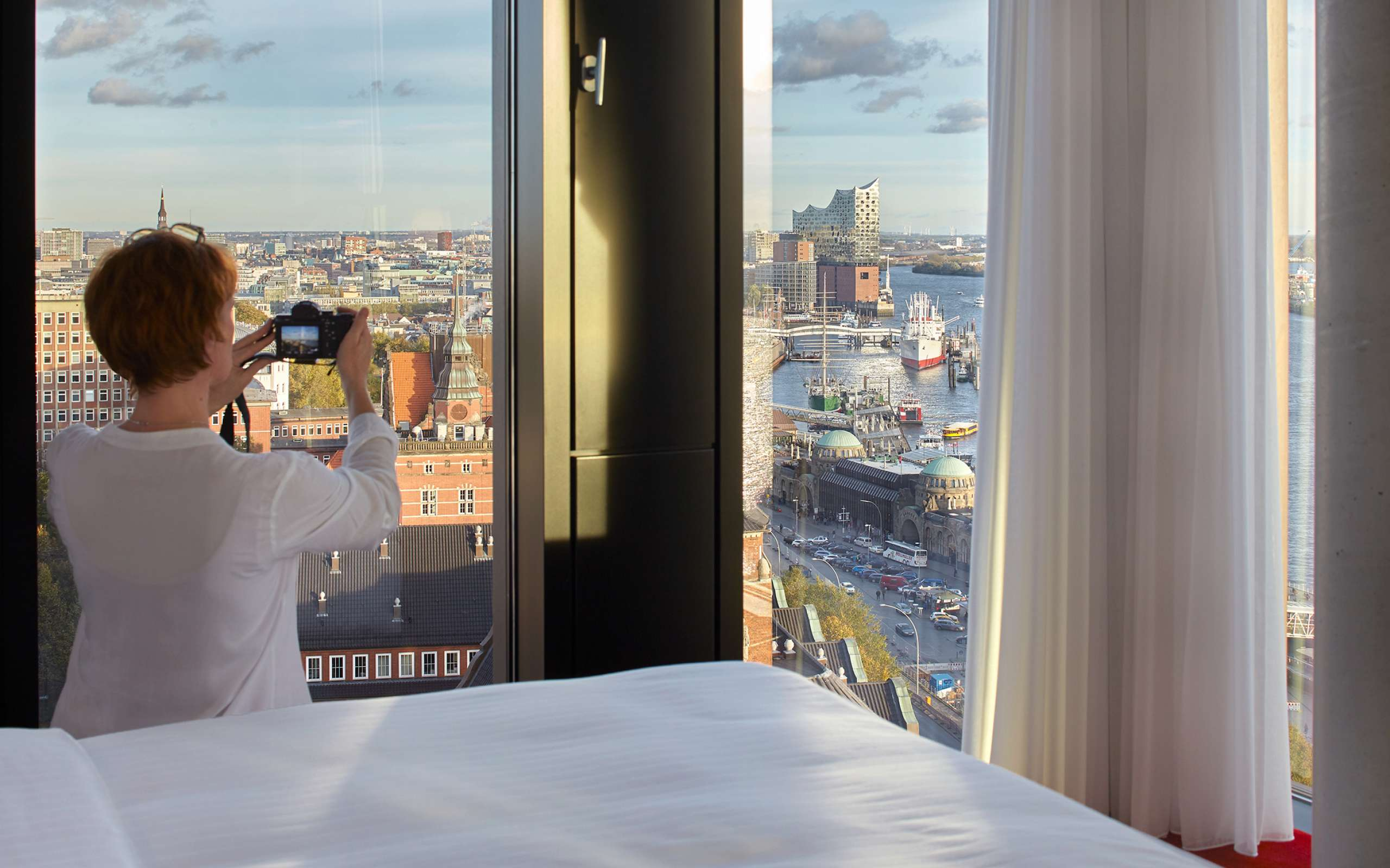 Aussicht | Elbphilharmonie | Riverview | Empire Riverside Hotel