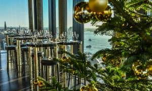 Skyline Bar 20up | Brunch Weihnachten | Empire Riverside Hotel