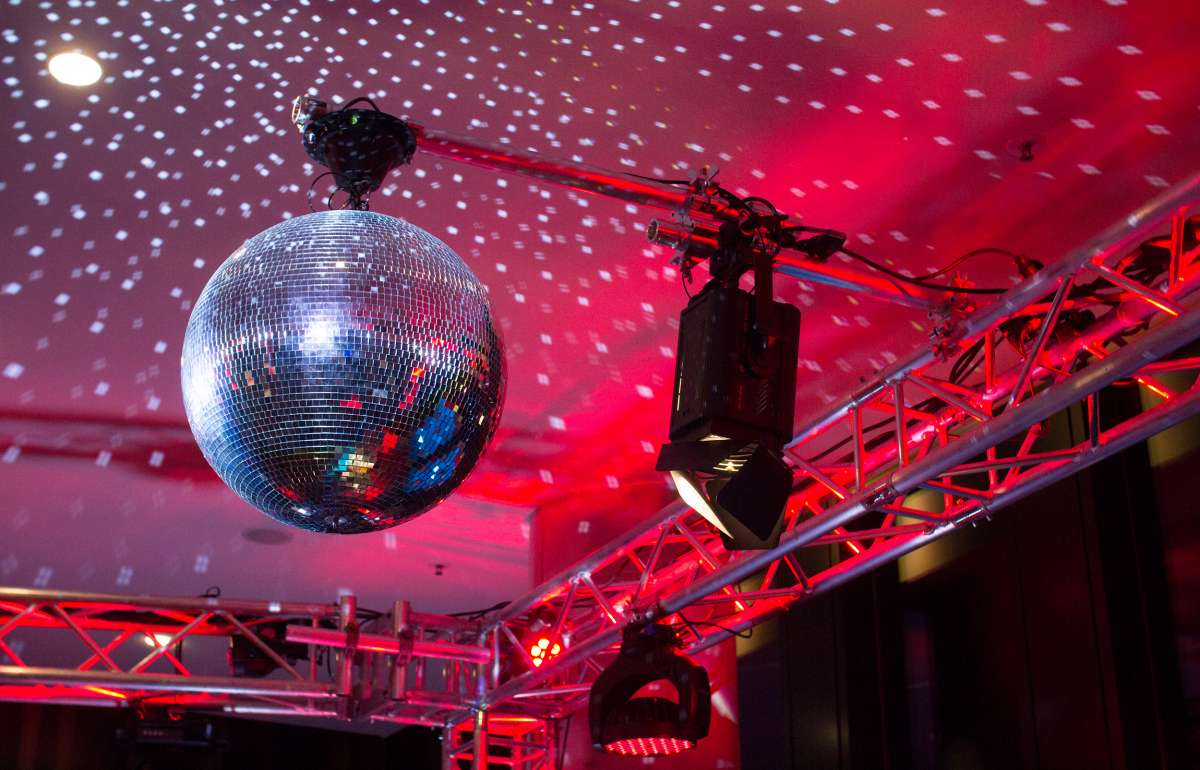 New Years Eve | Disco Ball | Empire Riverside Hotel