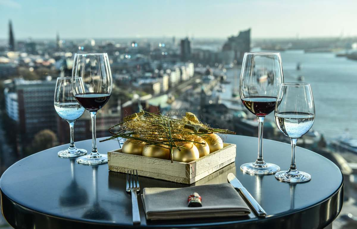 Brunch | Weihnachten | Skyline Bar 20up | Elbphilharmonie | Empire Riverside Hotel