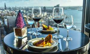 Brunch | Weihnachten Deko | Skyline Bar 20up | Empire Riverside Hotel