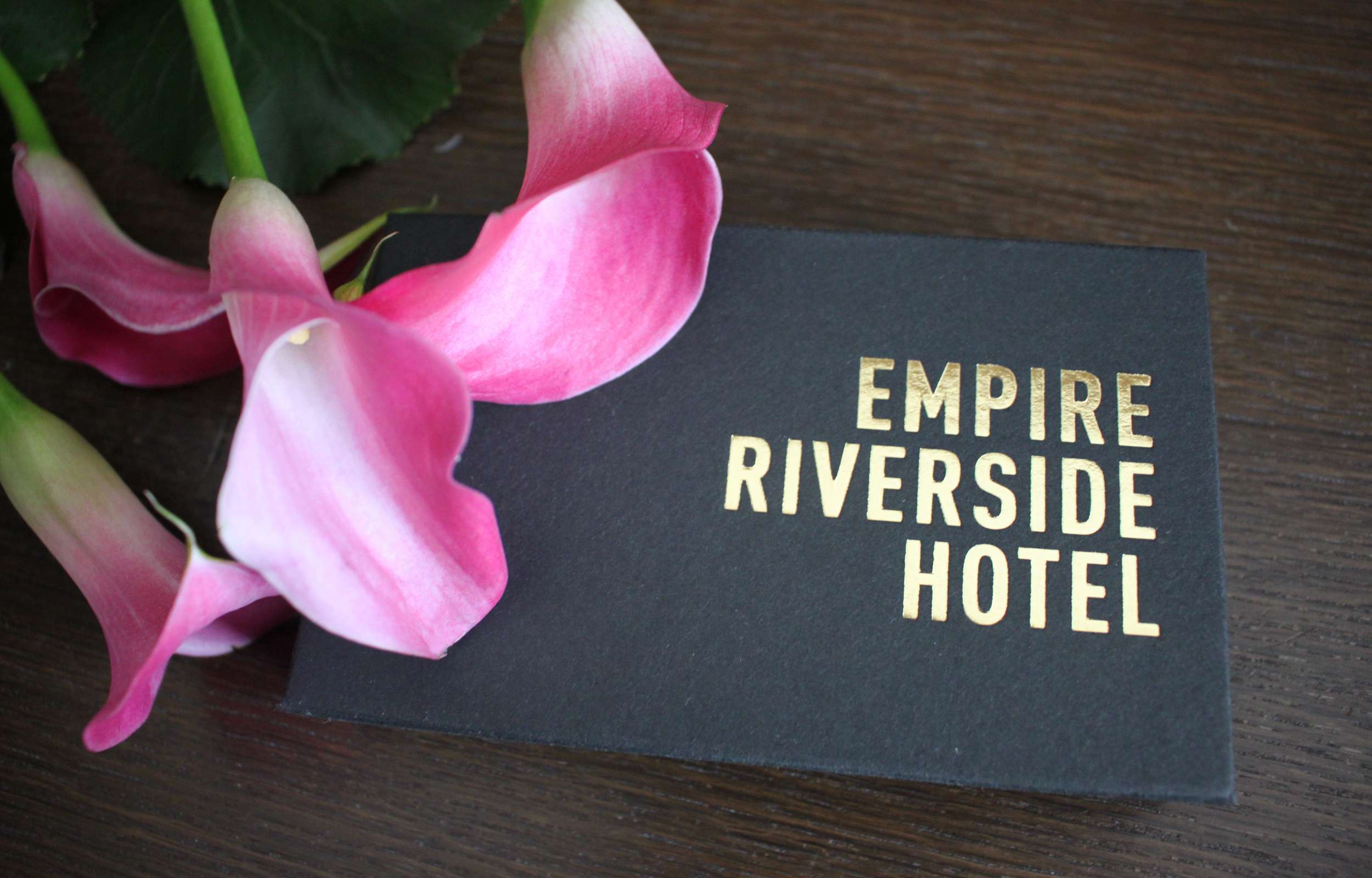 A voucher for the Empire Riverside Hotel